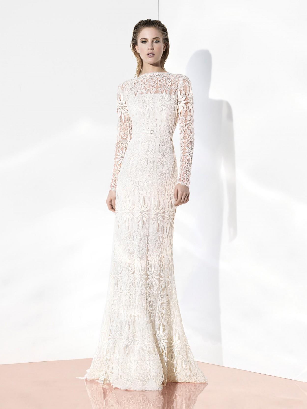 прямое платье на свадьбу